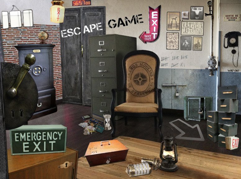 Easy Rider Park Escape Game 224 Saintes