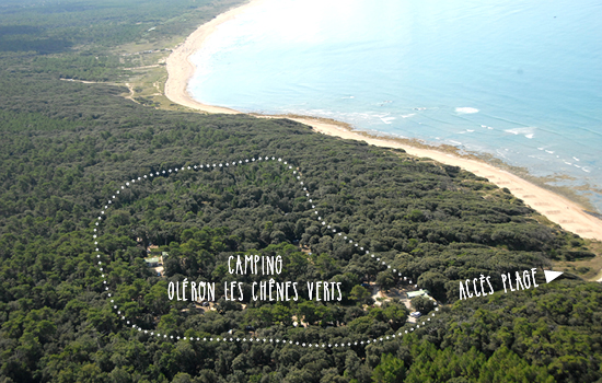 Camping huttopia ol ron les ch nes verts campings mobil homes dolus d 3 - Se loger ile d oleron ...