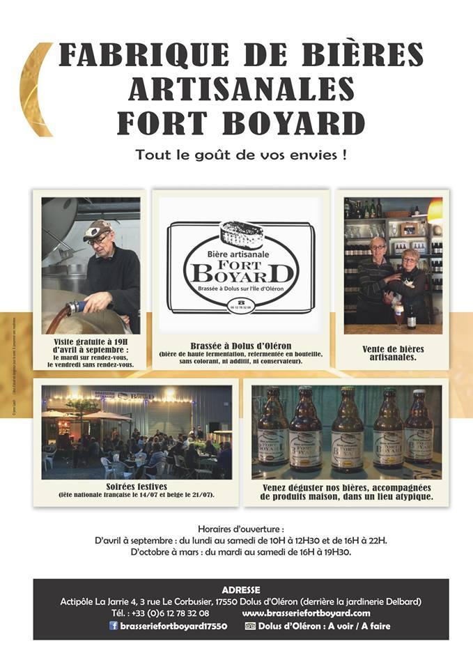 Affiche bières Fort Boyard
