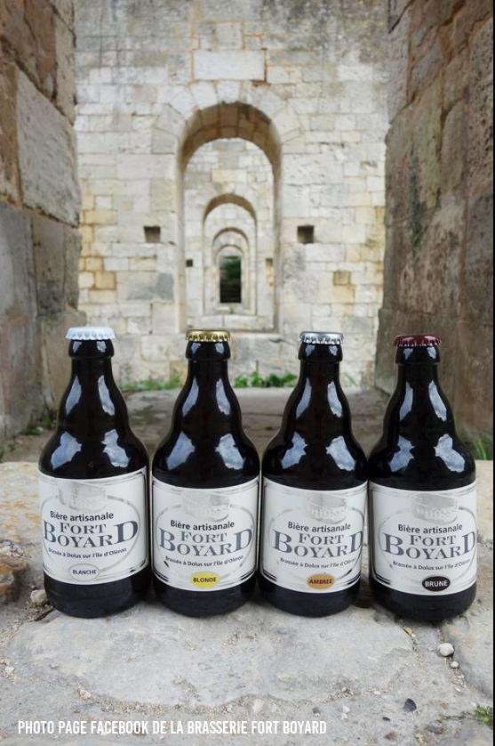 Les bières de la brasserie Fort Boyard