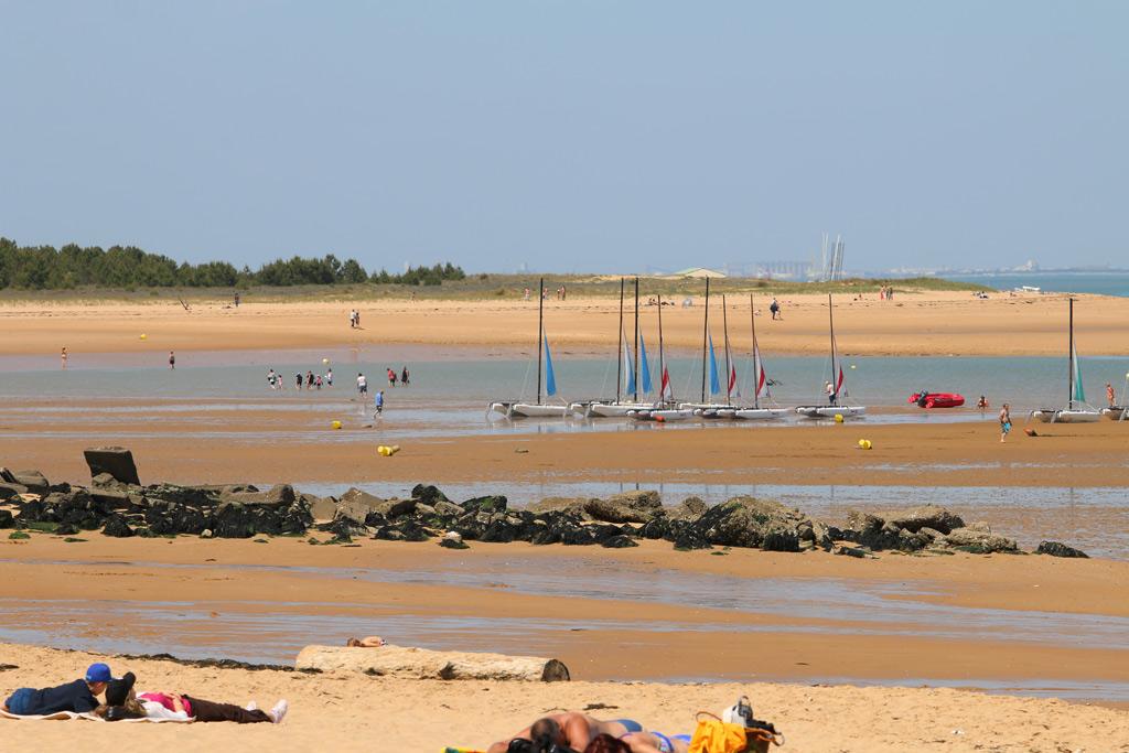 La plage de Boyardville