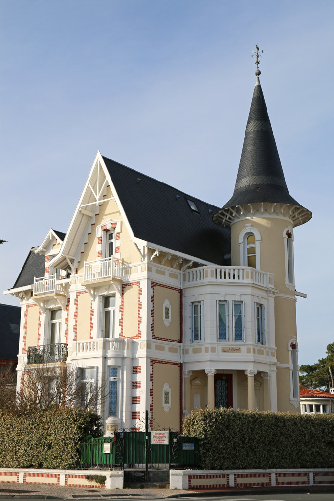 Tourelles maison royan