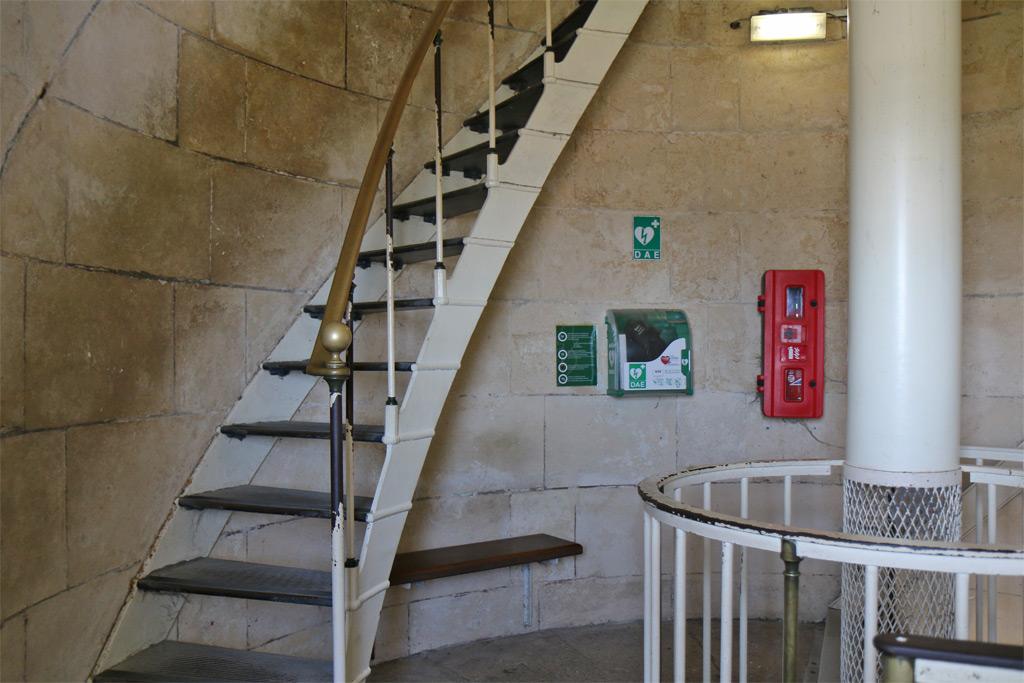 escaliers du phare de chassiron