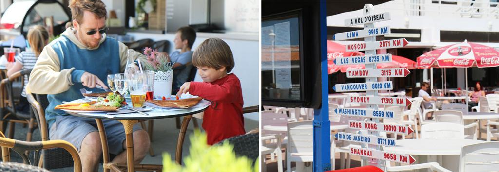 Les restaurants au phare de chassiron