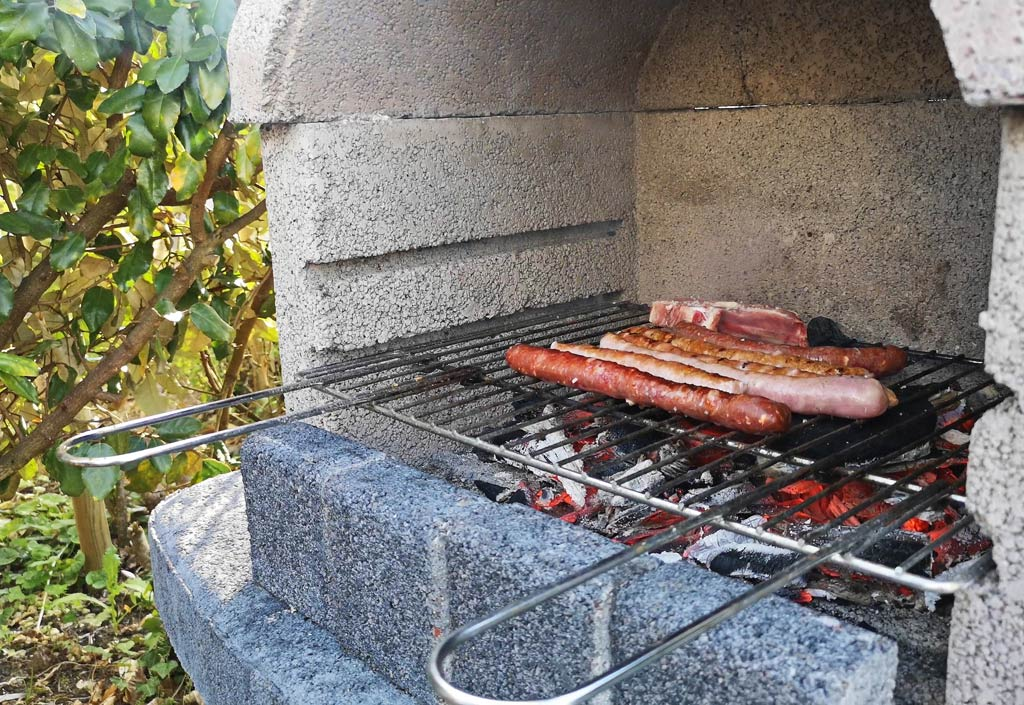 bbq camping le maine