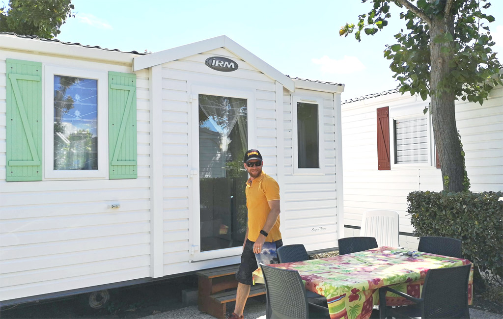 Mobil Home Camping Le Maine