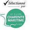 Selectionné par le Guide de Charente Maritime